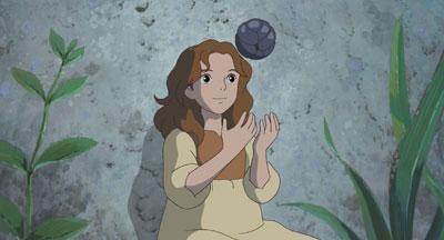 Arrietty juggling woodlouse