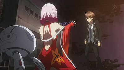Scene from Guilty Crown