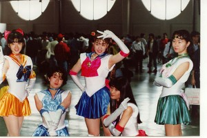 Comiket Shoujo Day - Sailor Moon cosplayers