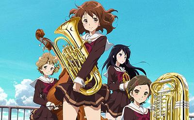 Kumiko with euphonium